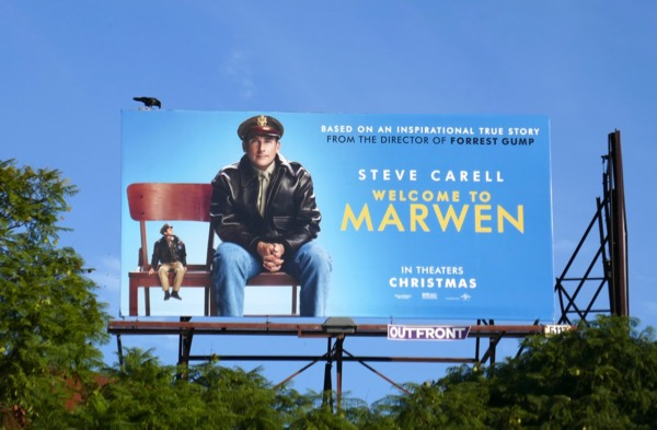Welcome to Marwen film billboard