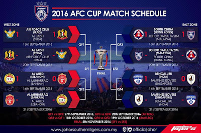 live streaming jdt vs south china 20.9.2016