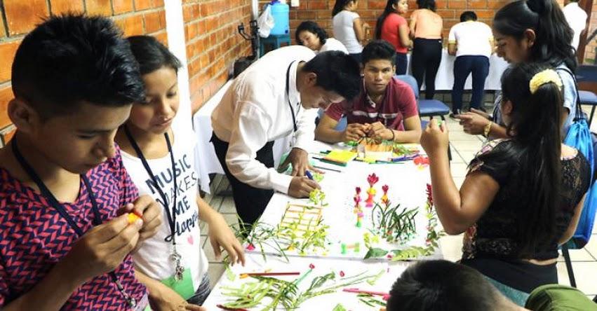 Campamento escolar organizado por el Minedu reunió en Tarapoto a líderes de secundaria de San Martín y Loreto - www.minedu.gob.pe