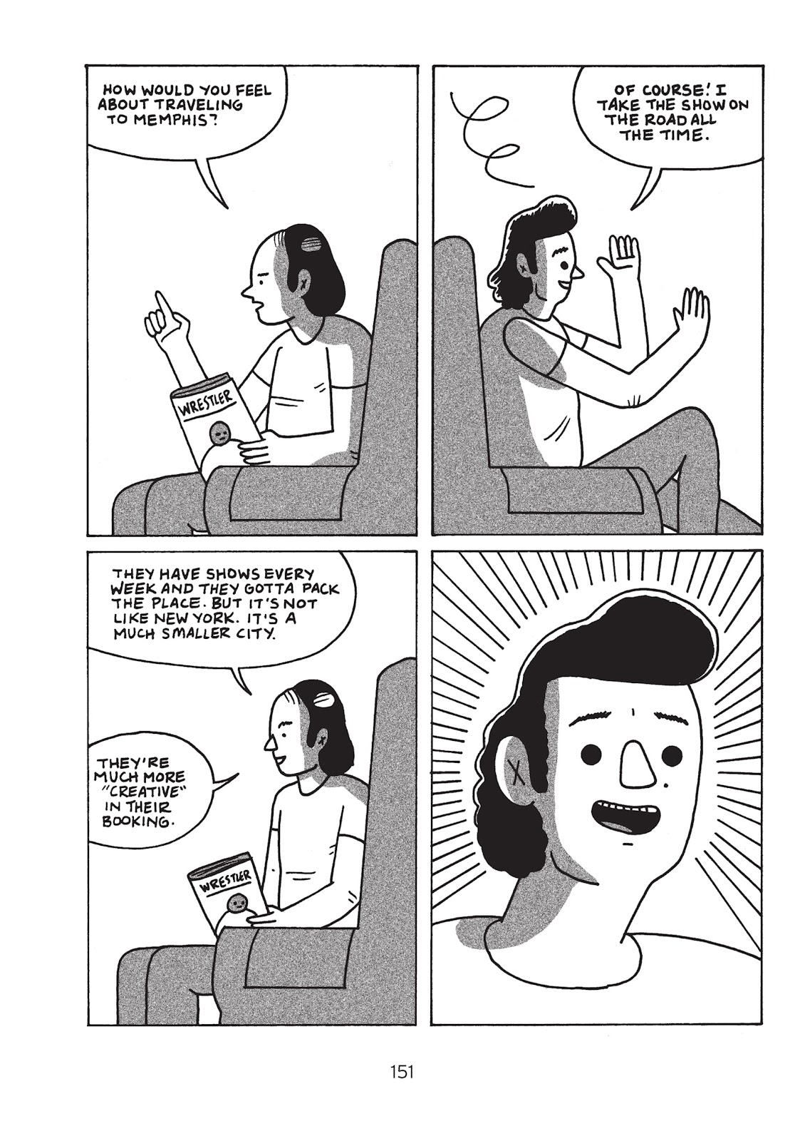 Read online Is This Guy For Real?: The Unbelievable Andy Kaufman comic -  Issue # TPB (Part 2) - 56