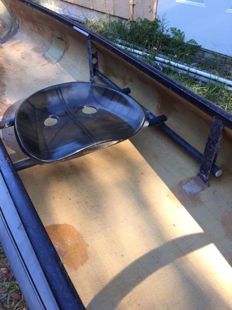 Plebeian Yacht Club: Sawyer Solo Kevlar sliding seat