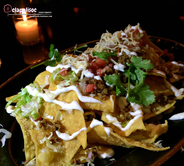 Asian Wonton Nachos from Buddha Bar Manila
