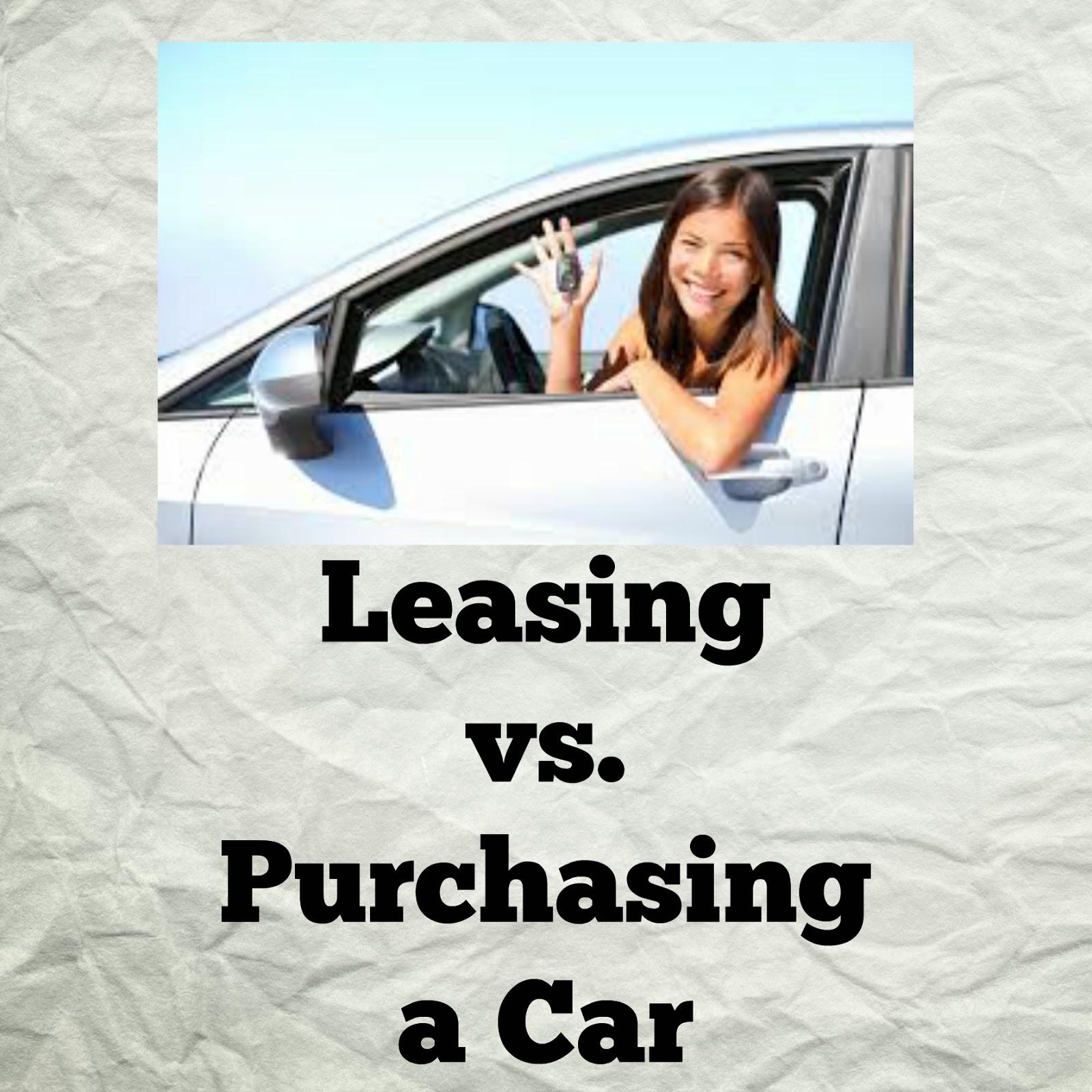 Leasing Vs. Purchasing A Car
