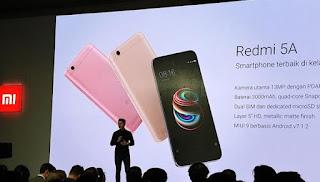 Xiaomi Redmi 5A Hadir di Penghujung Tahun 2017