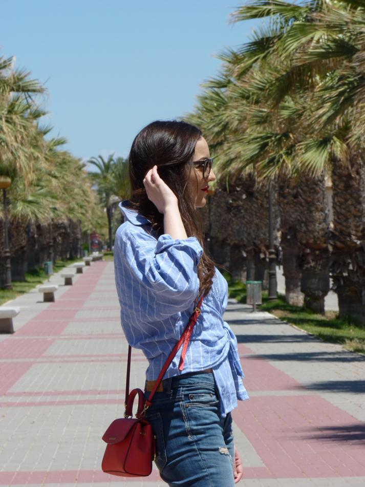 asimmetric blouse