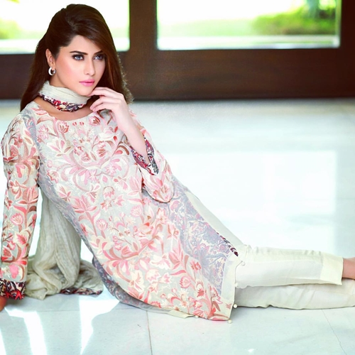 Eid Ul Azha Evening Party Dresses by Riffat Sana