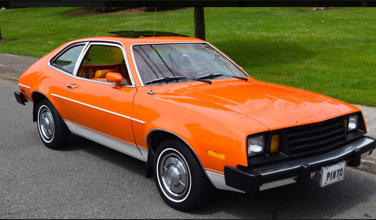 On The Block: 1979 Pinto hatchback