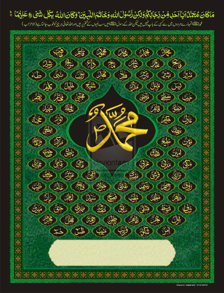 pin allah muhammad name - photo #14
