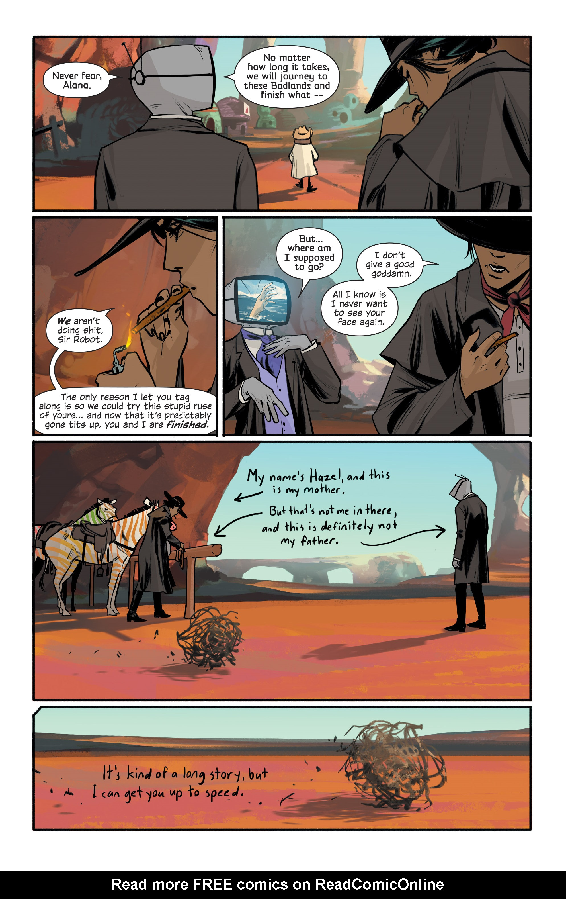 Read online Saga comic -  Issue #43 - 7