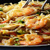 Rice Noodles With Chicken And Prawns Recipe