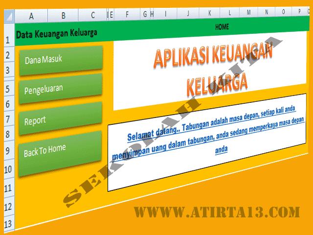Download Aplikasi Keuangan Keluraga Format Excel.Xlsb Gratis Terbaru