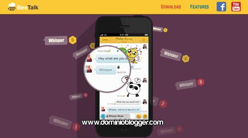 Conoce chicas y chicos con la app BeeTalk