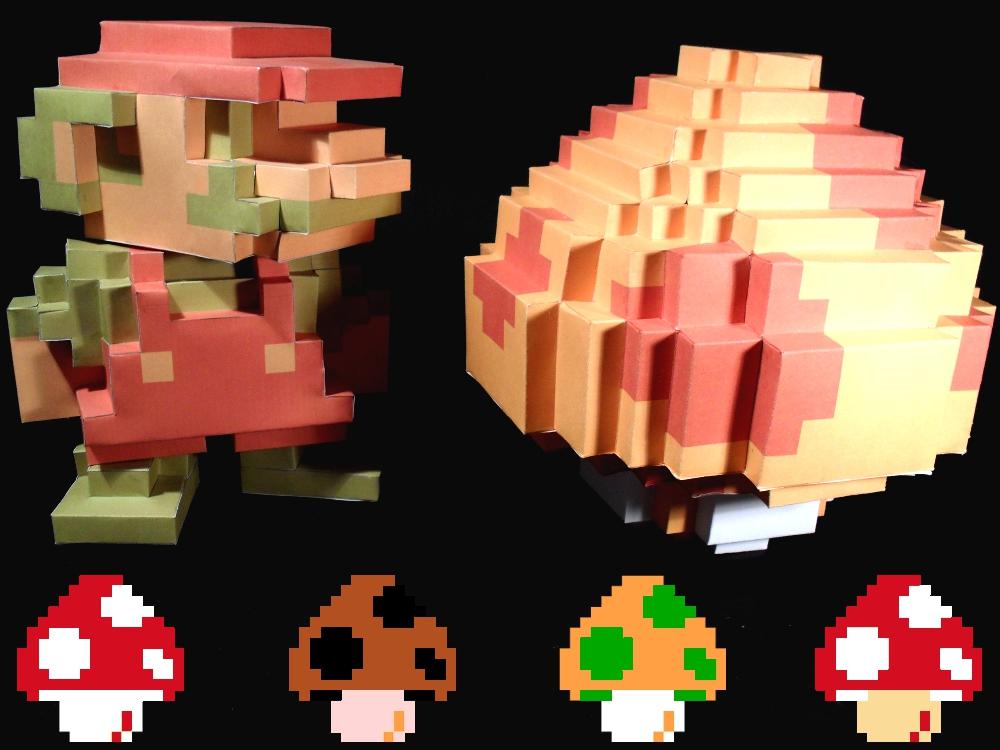 Mario Poison Mushroom 8 Bit