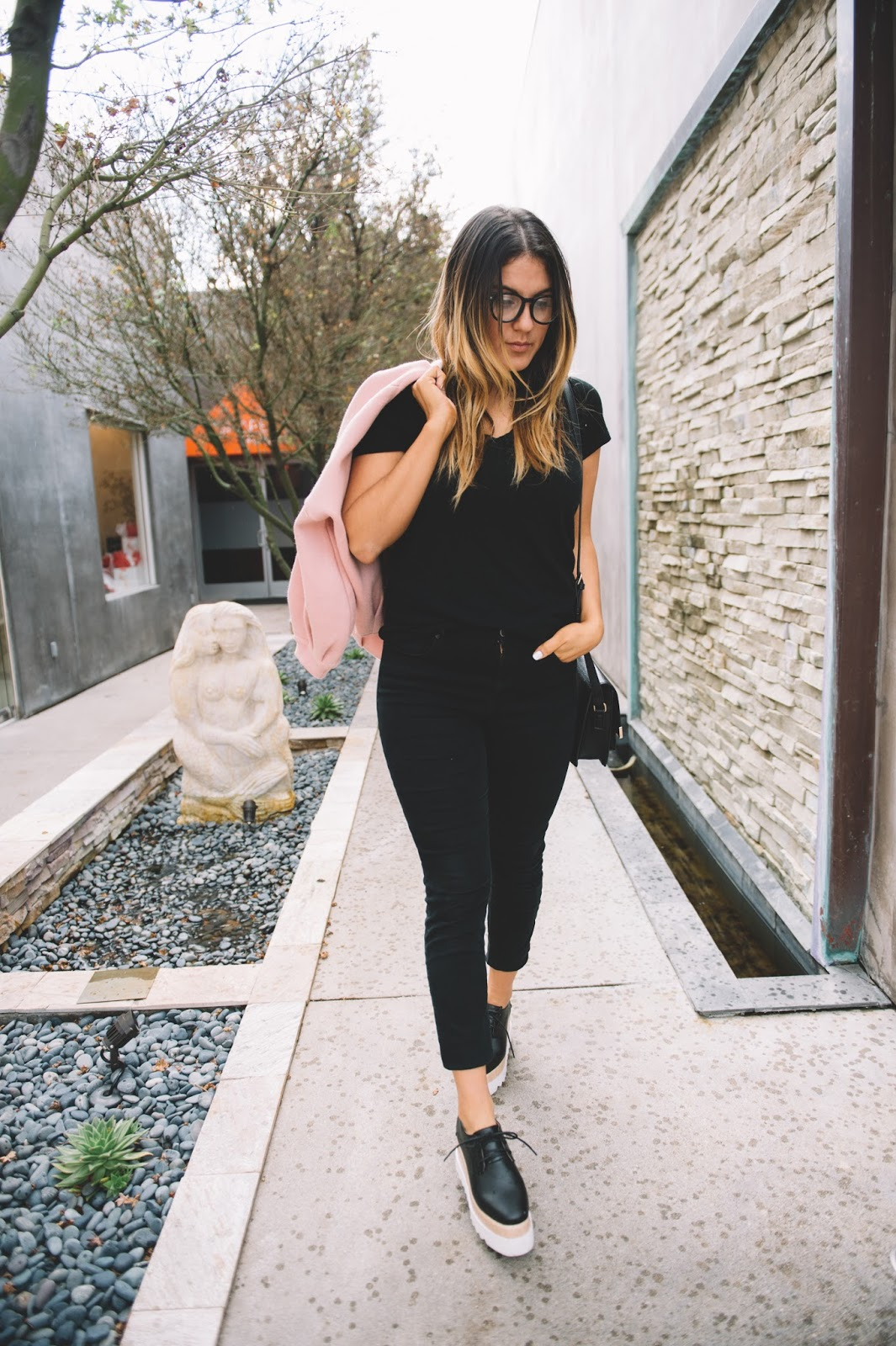 All Black Outfit Post -- Taylor Winkelmeyer