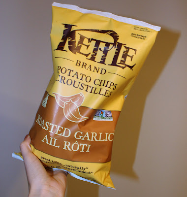 Kettle Brand Roasted Garlic Potato Chips