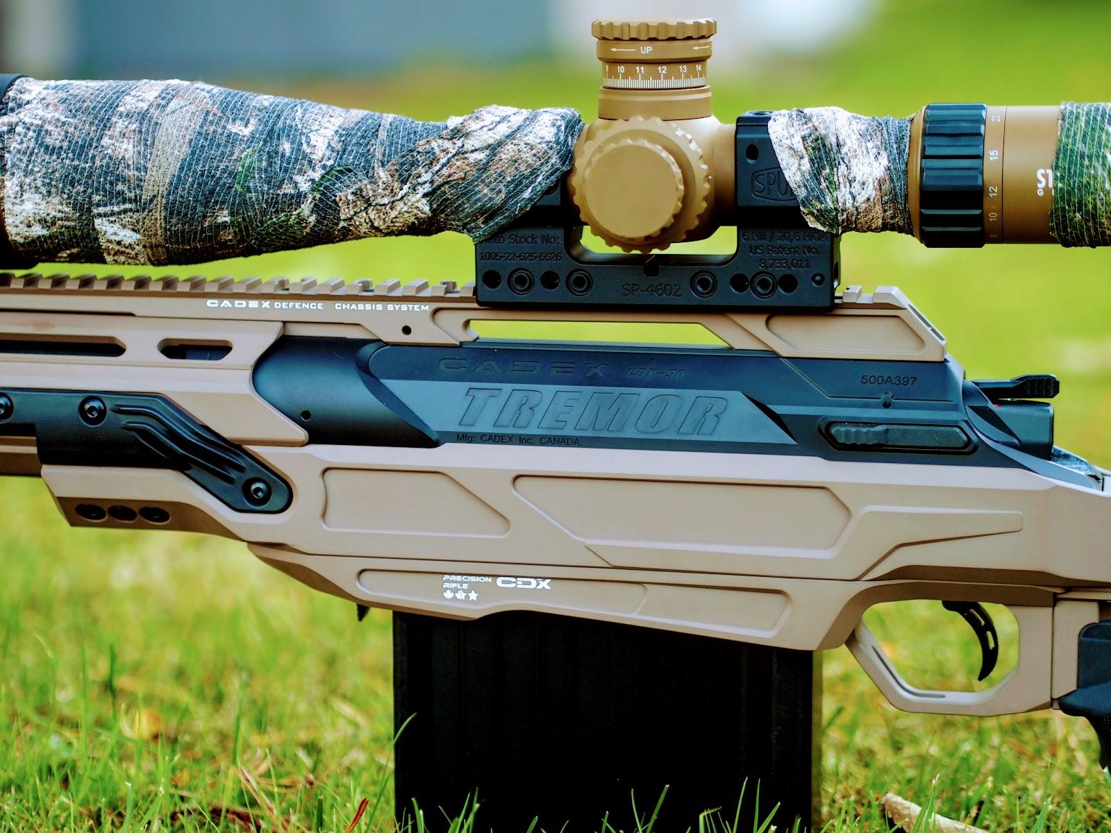 Cadex CDX-50 TREMOR unboxing and quick photo shoot - AR15 COM