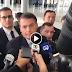 Bolsonaro rebate jornalista em entrevista sobre o caso Marielly e Anderson