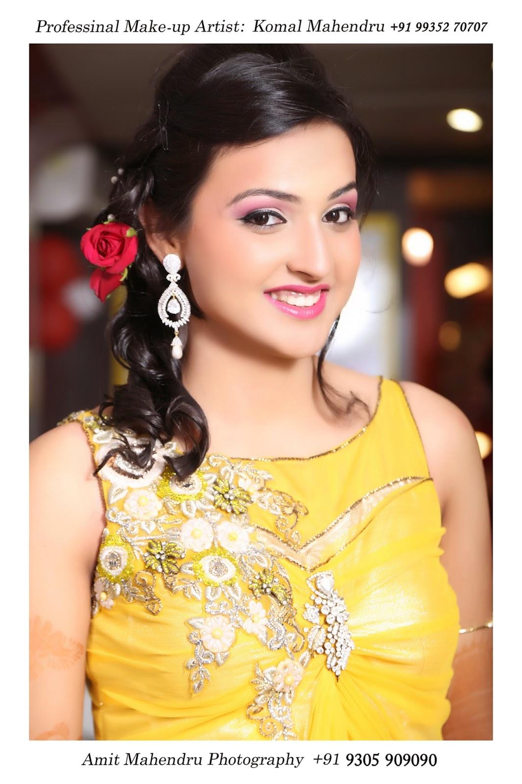 Komal Mahendru's Professional Makeup