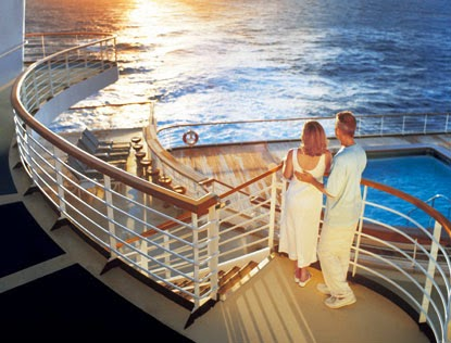 princess wedding at sea