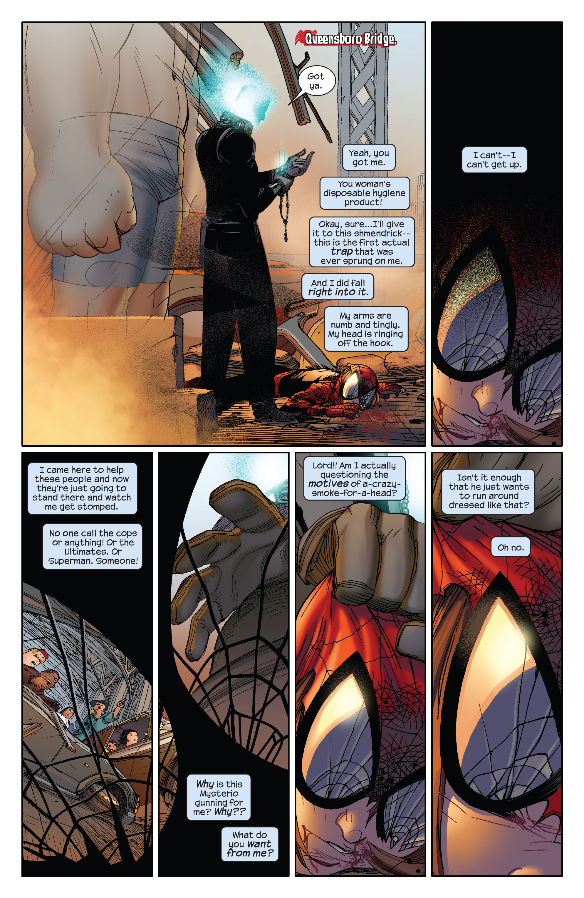 Read online Ultimate Spider-Man (2009) comic -  Issue #5 - 5