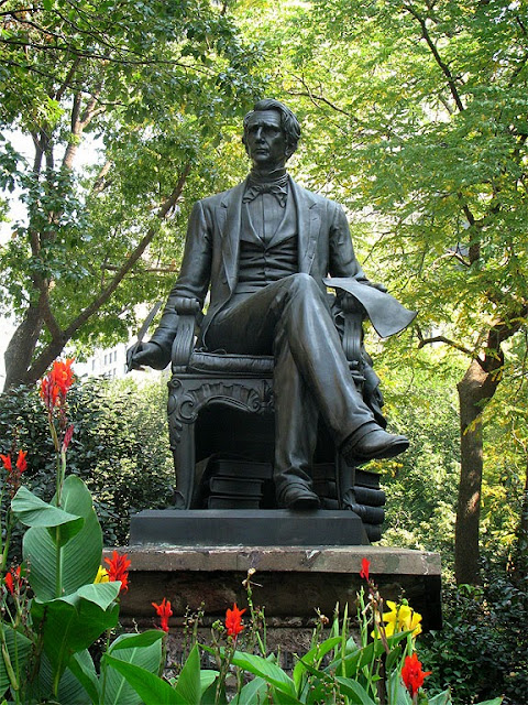 William H. Seward by Randolph Rogers, Madison Square Park, New York