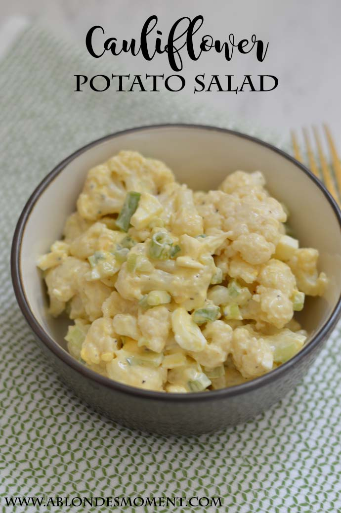 Cauliflower Potato Salad @rachmccarthy7