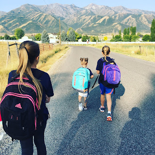 Traditions for the First Day of School Your Children Will Love and are manageable for mom to do. Seven things you can do to make the first day of school special.