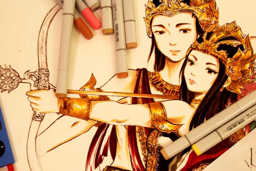 Wayang Arjuna Dan Srikandi Kartun Ki Dalang Rohmad Hadiwijoyo