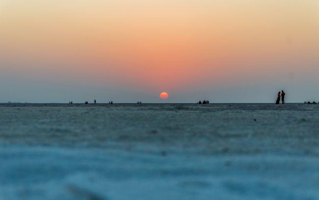 The salt and the Sun