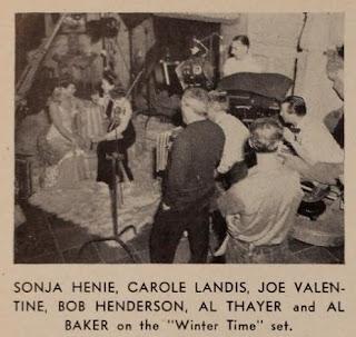 Carole Landis Sonja Henie