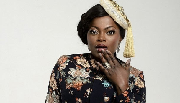 Funke Akindele blasts local artistes with American accent