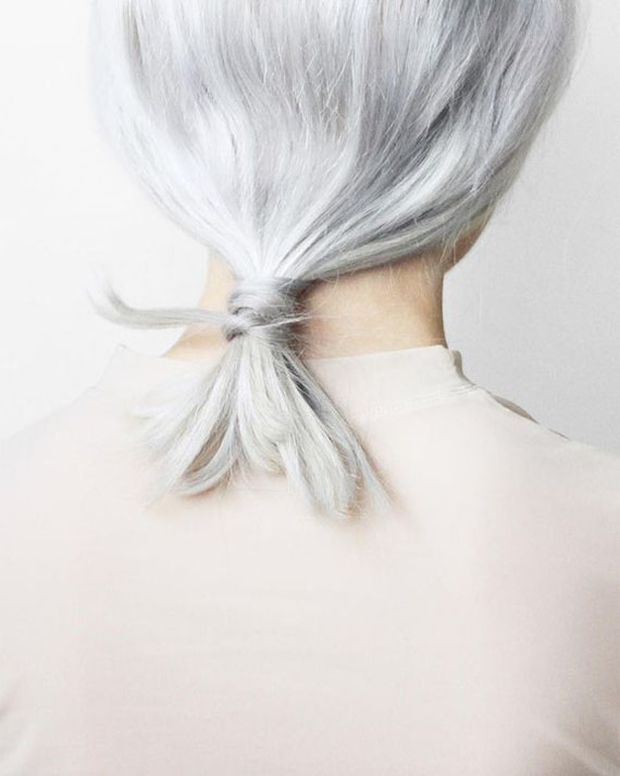White hair by love_aesthetics
