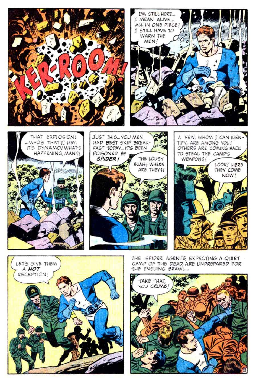Thunder Agents v1 #9 tower silver age 1960s comic book page art by Wally Wood