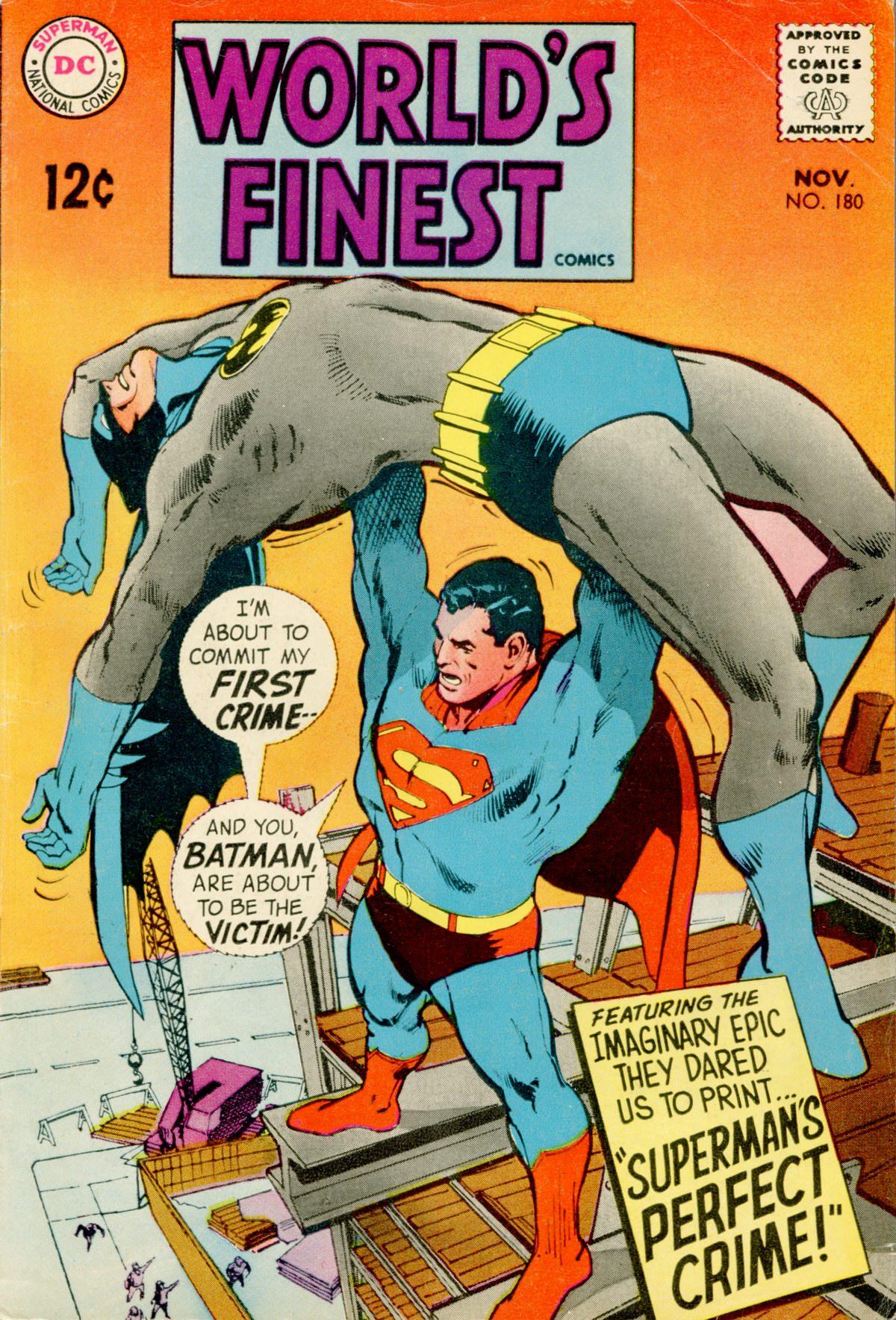 Read online World's Finest Comics comic -  Issue #180 - 1