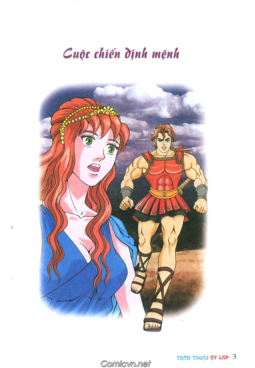 Thần Thoại Hy Lạp Màu - Chapter 57: Cuộc chiến định mệnh - Pic 2