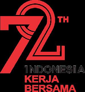 logo HUT RI ke 72 agustusan 2017 vector cdr