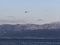 helikopter Brački kanal Supetar slike otok Brač online