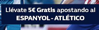William Hill promocion Espanyol vs Atlético 22 diciembre
