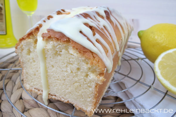 Zitronen-Mascarpone-Kuchen mit Limoncello-Guss | Foodblog rehlein backt