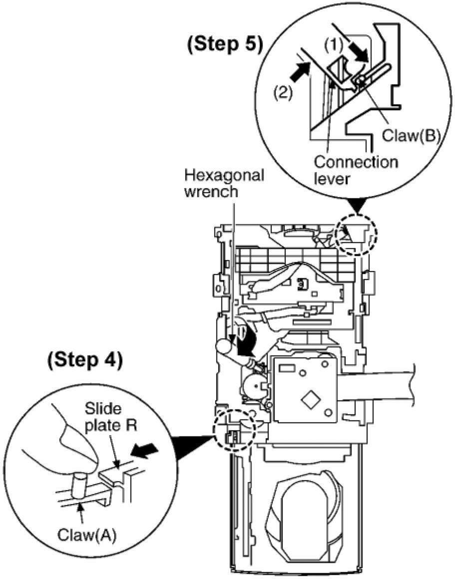 [SCHEMATICS_4NL]  Electro help: HOW TO REMOVE CD MECHANISM - PANASONIC SA AK630EE -  TRANSVERSE DECK | International Comfort Products Wiring Diagram |  | Electro help