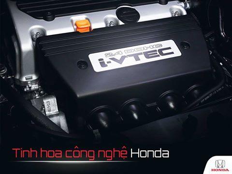 Tinh hoa công nghệ động cơ I-VTEC của Honda