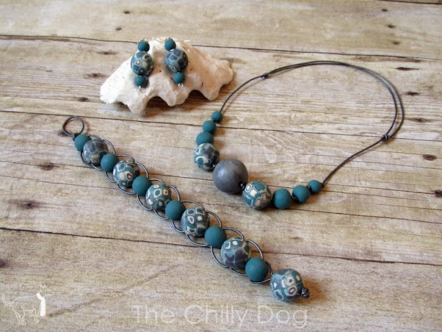 Enter to win one of two handmade, polymer clay jewelry sets.