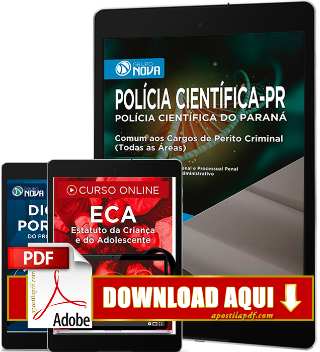 Apostila Polícia Científica PR 2017 PDF Download Perito Criminal