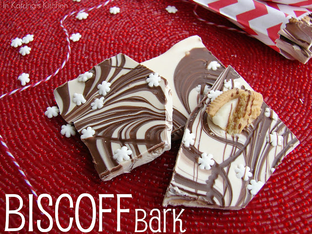 Biscoff Bark from @katrinaskitchen