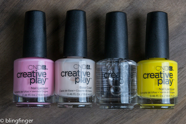 CND Creative Play - Swatches & Review