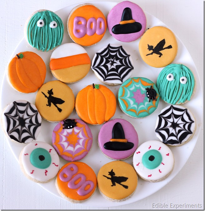 Halloween Themed Baby Shower Cookies.Sugar Cookie Catalog Edible Experiments