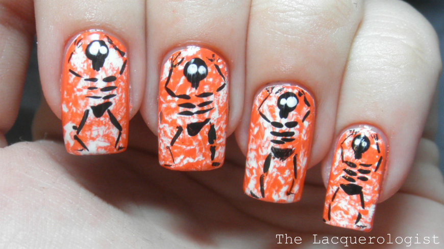 13 Days of Halloween 12: Cute Little Skeletons! • Casual Contrast