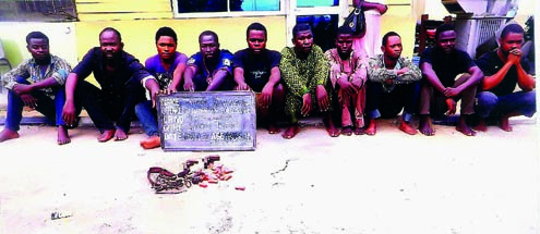 kidnappers nysc corper,3 teachers arrested rivers state