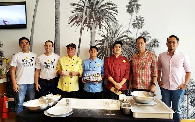 California Pizza Kitchen Pizza Wars Finalists and Judges