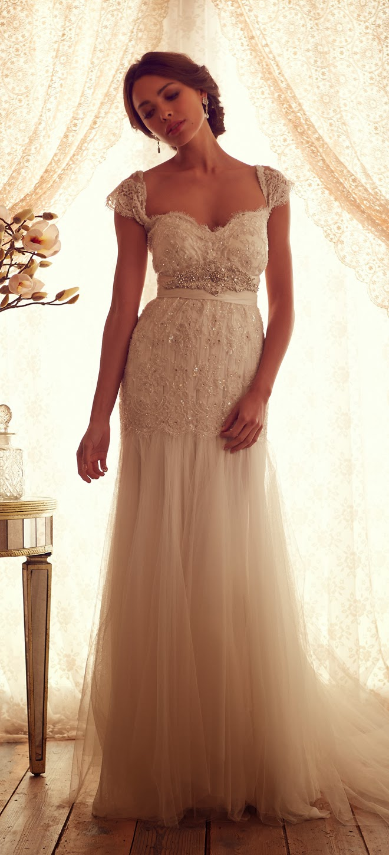Erfreut Anna Campbell Wedding Dress Prices Galerie - Hochzeit Kleid ...